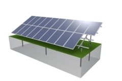 GS4 Ground Solar Mounting System