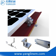 Adjustable Flat Solar Racking System