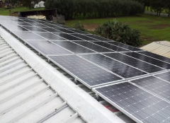 Titanergy Metal Roof Solar Racking System