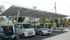 Customized Carport PV Mounting System