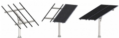 Single Pole Solar Mounting System
