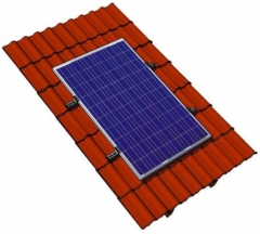 Alu Mounting System for Pitched Roof
