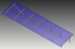 Flat Roof / Ground Mounting Structure