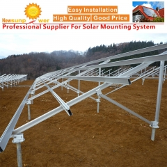 Ground Screw Solar Panel Mounting System