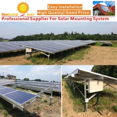 100KW UB Ground Solar Mount
