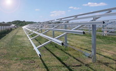 SS Solar Panel Mounting Structure