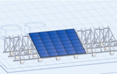 Rural/Land Roof PV Frame