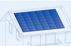 Sloped Roof PV Mount