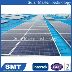 Solar Panel Manufacturer with Mounting Structure