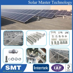 Solar Ground Mounting Structure Bracket PV Mounting System Project