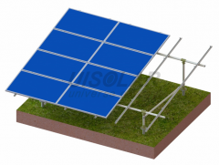 ST1C Steel Ground Mounting(PV Rack)