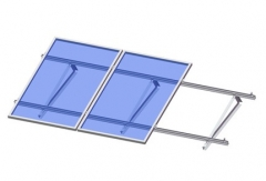 Flat roof-angle bar triangle kit