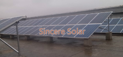 Cement Flat Roof Solar Mounting System