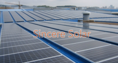 Sheet Metal Roof Solar Mounting System