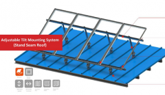 Adjustable Tilt Mounting System (Stand Seam Roof)