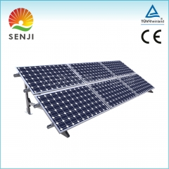 Flat roof C steel double row bracket