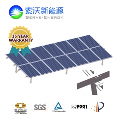 Hot-Dip Galvanized Steel Ground PV Mounting System