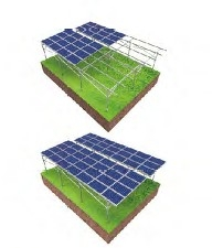 Green Houses Mounting System