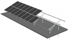 Hot dip galvanized Zinc Steel Solar Mounting System