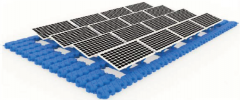 Floating Solar PV Structure System