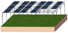 Solar Farm Ground Mounting System
