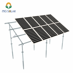 Galvanized Steel Solar Ground Structure System