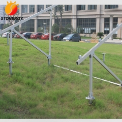 Aluminum Ground Screw Pile Mount for PV Solar Panel