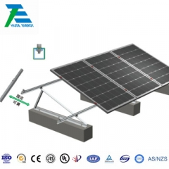 Flat Roof Solar Adjustable Triangle Bracket