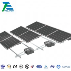Flat Roof Ballasted Solar Mounting System