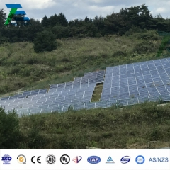Slope Ground Solar Mounting System