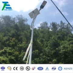 Street Light Solar Mounting Structure