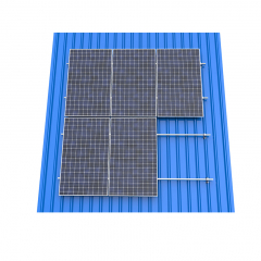 Seam Metal Roof Solar Mounting  Solution