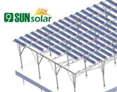 Customize Adjustable Solar Farm Mounting System