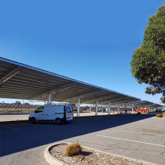 Car Shed PV Racking Systems