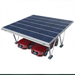 Galvanized Solar Mounting System Car Parking