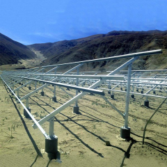 C Type Solar Panel Ground Mounting Systems Solar Panel Pole Mounting Systems