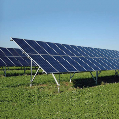 Photovoltaic Array SGS Approved High Quality 60ms Solar Panel Ground Mounting Systems