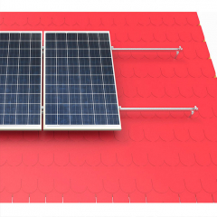 Anodized Aluminum & Galvanized & Stainless Tile Solar Panel Roof Mounting Systems