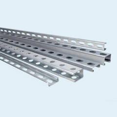 High Quality U Beam Galvanized Steel Profile 40-100 Mm Hot Dipped Steel Channel Custom Length