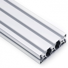Industrial Aluminum Profile Silver Aluminum Slotted Rail For Solar Energy System Roof Ground Project