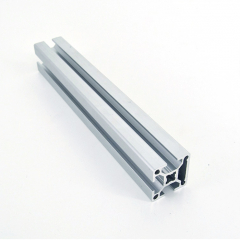 Optional Size Anodized High Class Framing Aluminum Slotted Rail 6063 6005 Solar Mounting Systems
