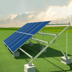 Steel Ground Mounted Solar PV Systems For PV Panel Project