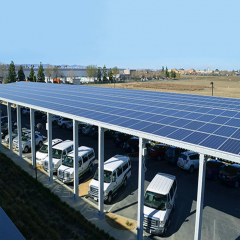 Single Multi Solar Panel Racking Systems For Carport