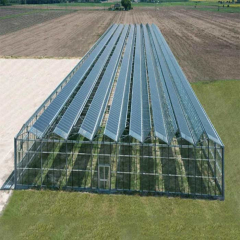 Hot Dip Galvanized Steel Solar Photovoltaic Power Generation For Greenhouse