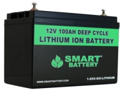 12V 100AH Lithium ion Battery