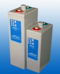 OPzV Tubular lead acid batteries