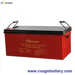 HTL Series High temperature Deep Cycle Gel battery