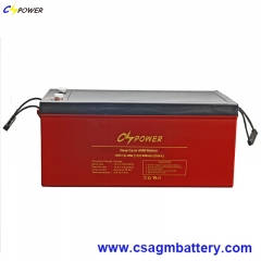 HTD Series Deep Cycle AGM Battery