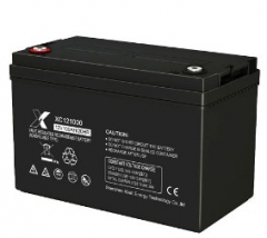 12V100AH GEL lead acid battery