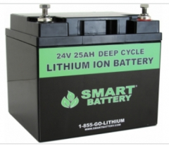 24V 25AH Lithium Ion Battery